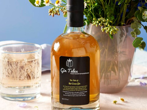 Hot cross bun gin is the only gin to drink this Easter