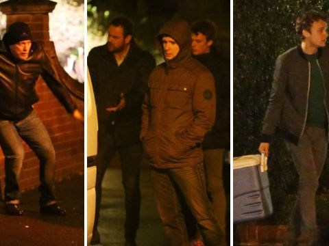 EastEnders spoilers: Mick and Johnny Carter foil Buster and Lee's daring fish heist as Ted Reilly films first scenes