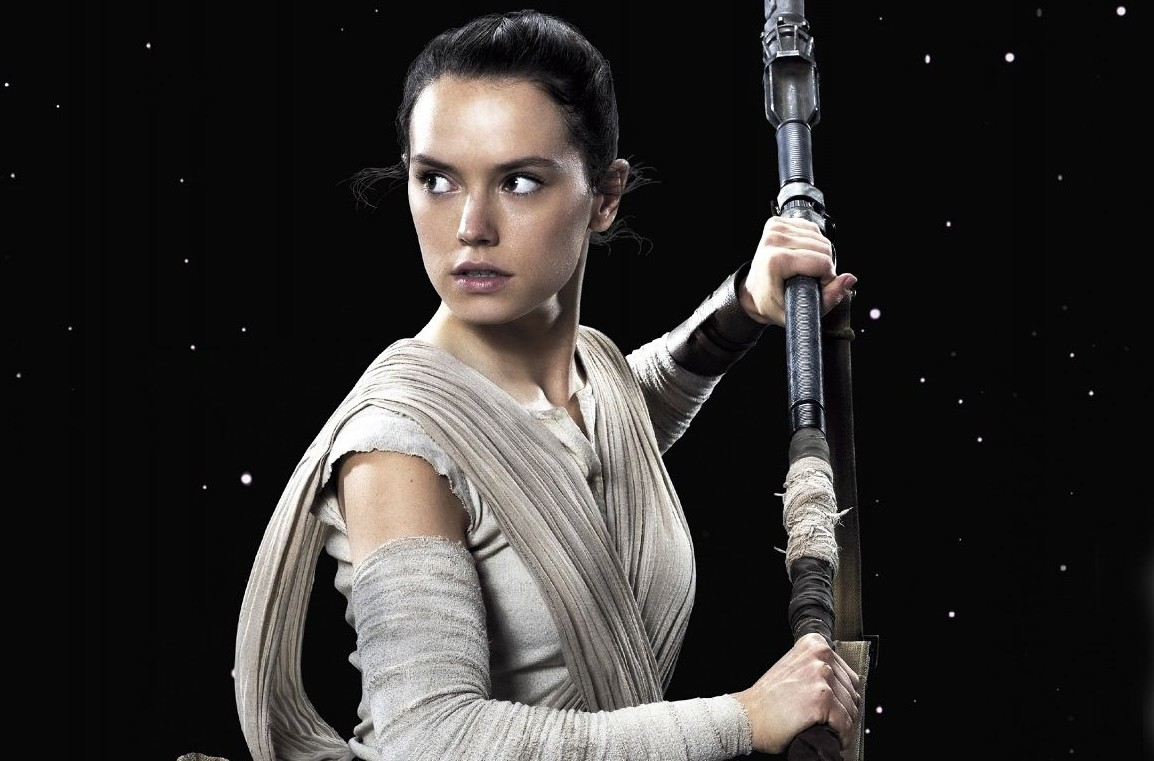 Daisy Ridley plays the already iconic character Rey in Star Wars: The Force Awakens (Picture: Disney)