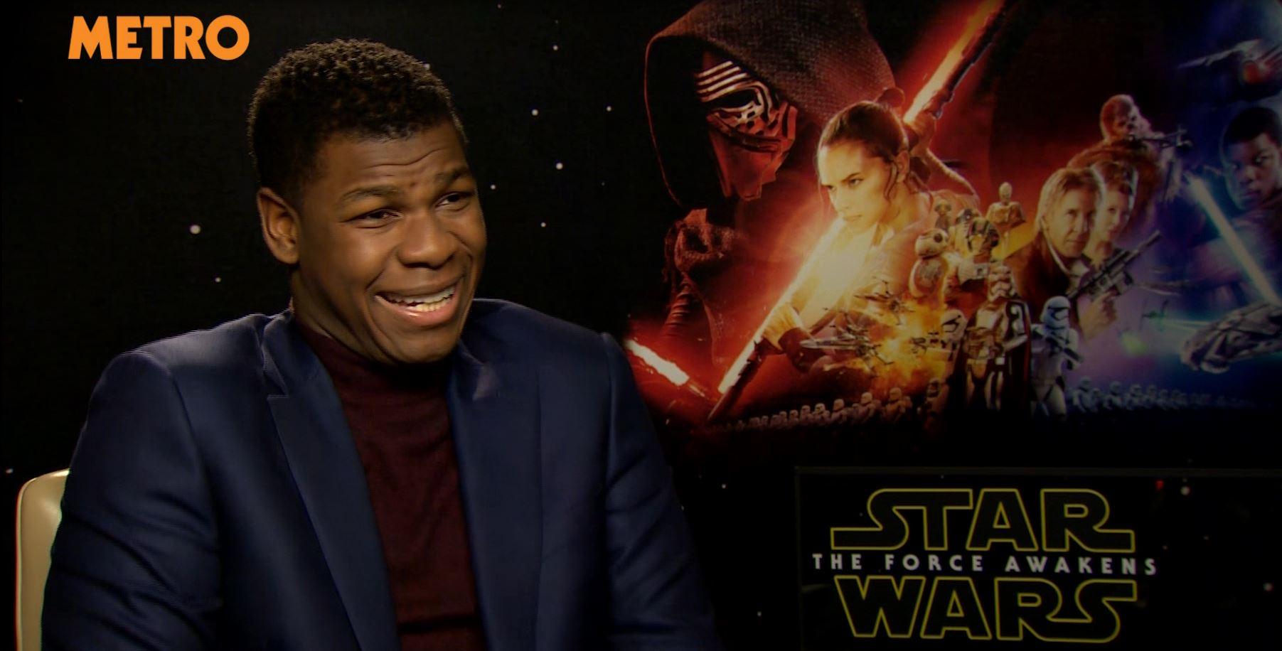 John Boyega reveals plot details for Star Wars Episode VIII