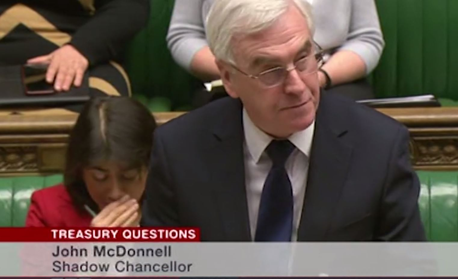'Shut up your face': John McDonnell just got heckled in the House of Commons