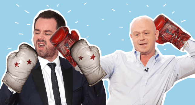 Danny Dyer and Ross Kemp will have a tear up in EastEnders