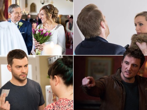 12 soap spoiler pictures: EastEnders baby tragedy, Coronation Street suicide drama, Emmerdale wedding twist