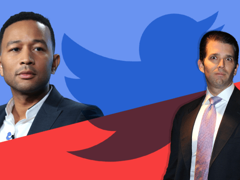 John Legend brands Donald Trump 'racist' in Twitter feud with the presidential candidate's son