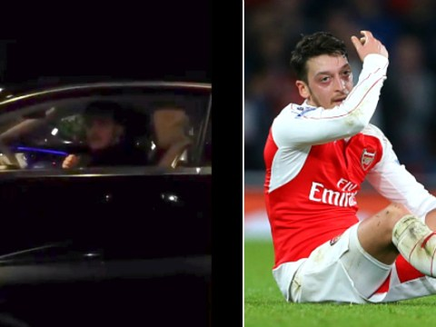 Arsenal fan stops Mesut Ozil and begs him to stay after Gunners blow title