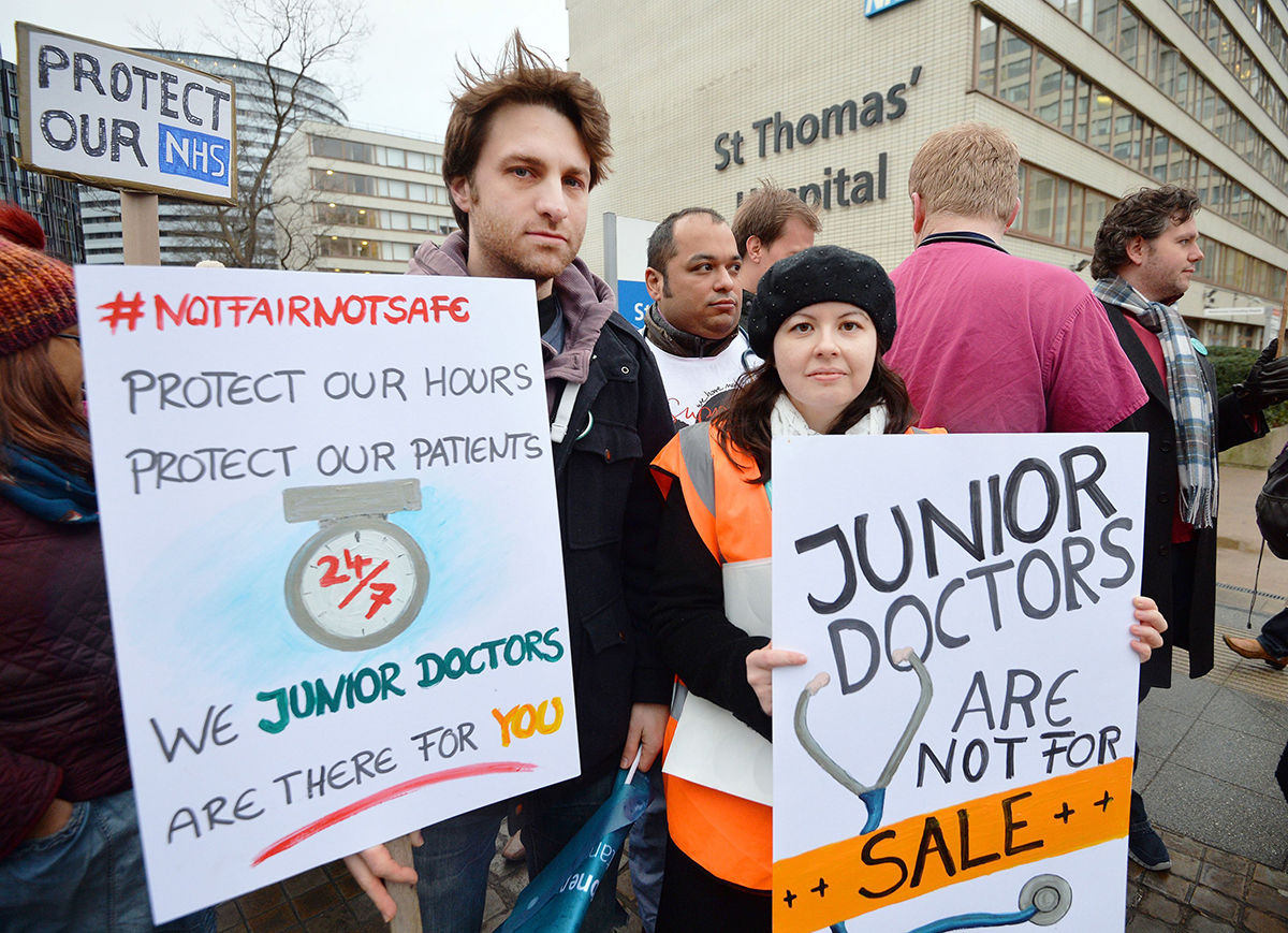 Junior doctors announce strike that will have more impact than ever