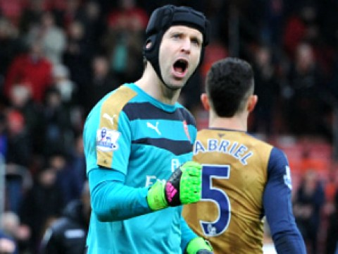 Petr Cech promises Arsenal players will give everything to win title