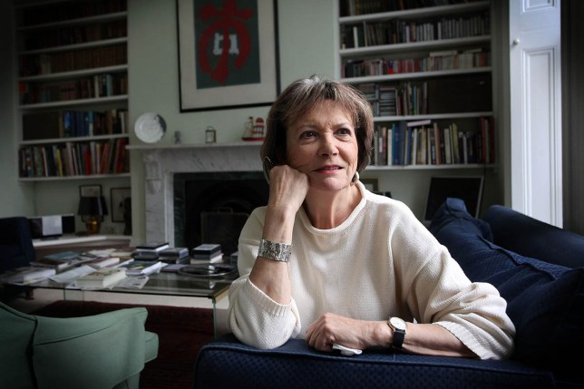 Mandatory Credit: Photo by Susannah Ireland/REX/Shutterstock (1251238e) Dame Joan Bakewell Dame Joan Bakewell at home, London, Britain - 21 Nov 2010 Dame Joan Bakewell, journalist, television presenter, and author, pictured at her home in London