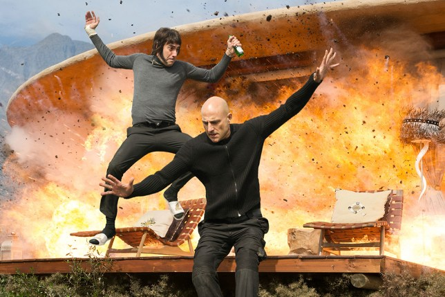 No Merchandising. Editorial Use Only. No Book Cover Usage Mandatory Credit: Photo by Moviestore/REX/Shutterstock (5591946d) Sacha Baron Cohen, Mark Strong Grimsby - 2016