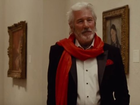 Richard Gere's new movie The Benefactor only made about £25