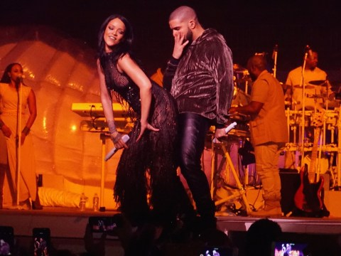 Rihanna and Drake give arousing performance of Work during Anti World Tour in Miami