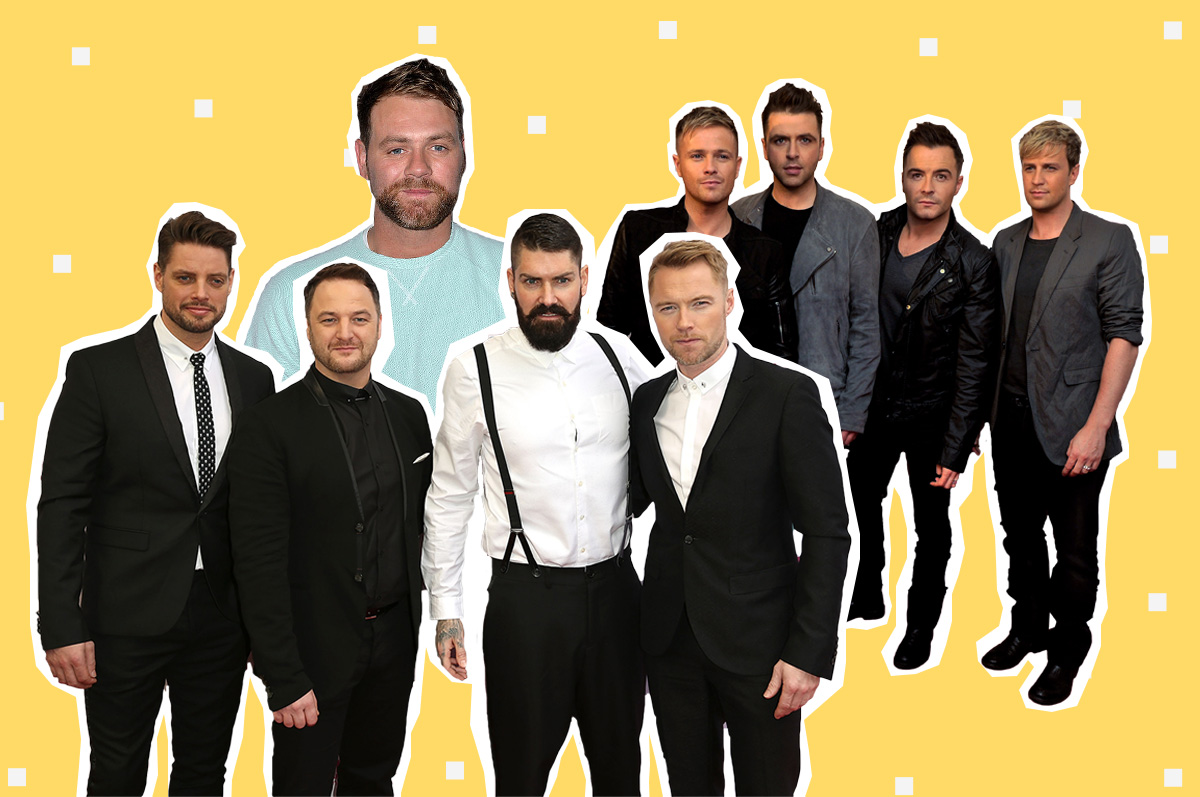 Brian McFadden confirmsWestlife and Boyzone ARE joining forces (and they're working on forming a supergroup)