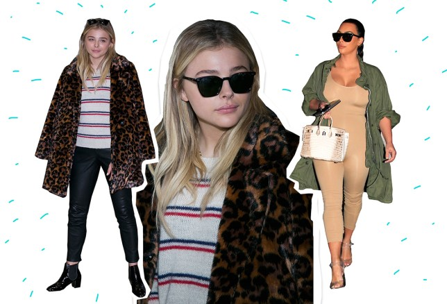 Kim K and Chloe Moretz comp INCHEON, SOUTH KOREA - MARCH 03: Chloe Moretz is seen upon arrival at Incheon International Airport on March 3, 2016 in Incheon, South Korea. (Photo by Han Myung-Gu/GC Images)