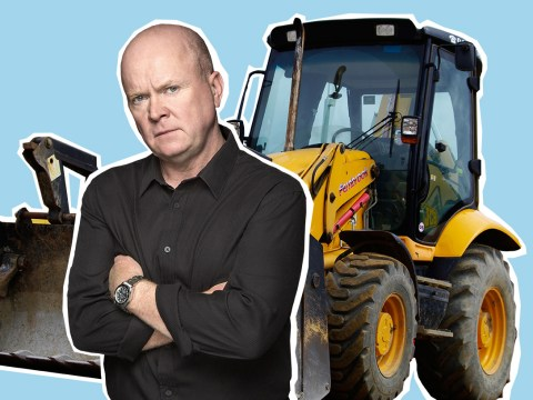EastEnders spoilers: Phil Mitchell to go on a drunken rampage across Albert Square in a digger