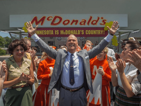 Check out the first picture from McDonald's movie The Founder