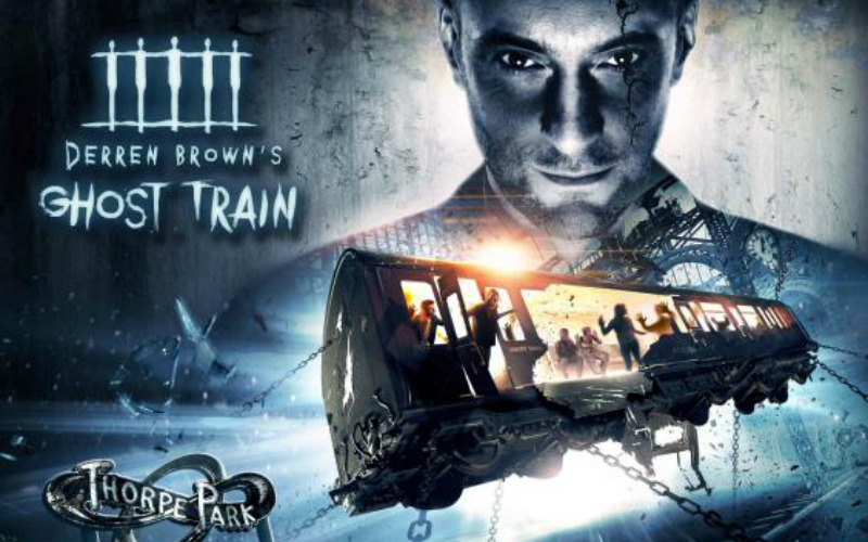Thorpe Park is offering tickets for just 12p to celebrate the opening of Derren Brown's Ghost Train