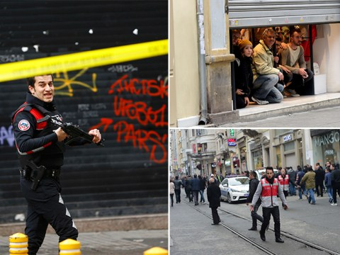 Suicide bombers attack Istanbul's busiest shopping area