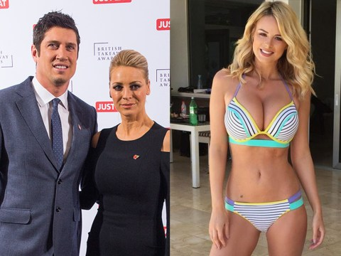 Vernon Kay 'sexting Rhian Sugden' again six years after it nearly ended marriage to Tess Daly