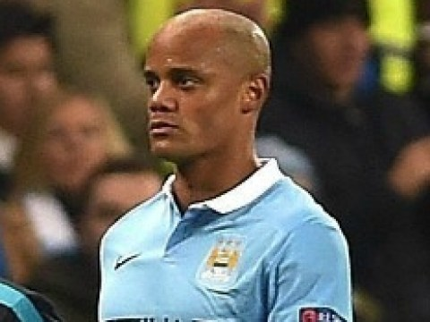 Manchester United fans say they've already won the derby after Vincent Kompany's injury for Manchester City