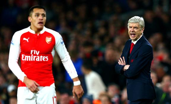 Arsenal boss Arsene Wenger ready to drop Alexis Sanchez