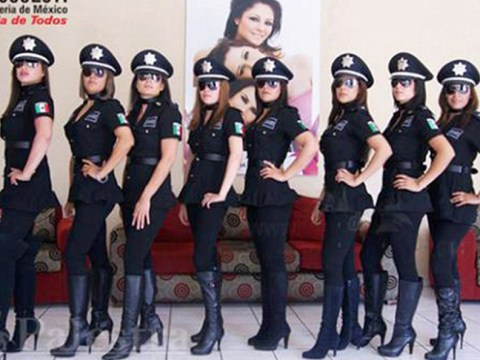 Female police officers in Mexico forced to undergo 'attractiveness inspections'