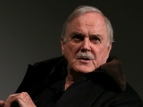 John Cleese joked about his black eye and was sent Monty Python jokes in return