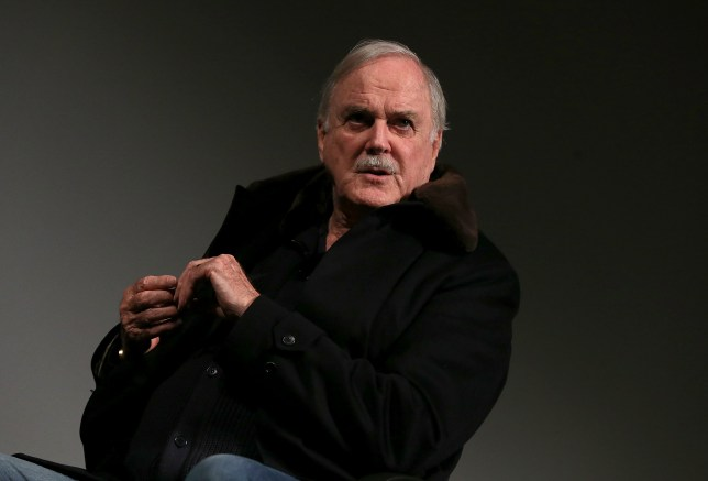 LONDON, ENGLAND - DECEMBER 07: John Cleese at BFI Southbank introducing two newly rediscovered episodes of comedy classic, At Last the 1948 Show (1967) at BFI Southbank on December 7, 2014 in London, England. (Photo by Danny E. Martindale/Getty Images)