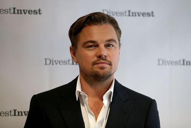DiCaprio accepted the award in New York (Picture: Justin Sullivan/Getty Images)