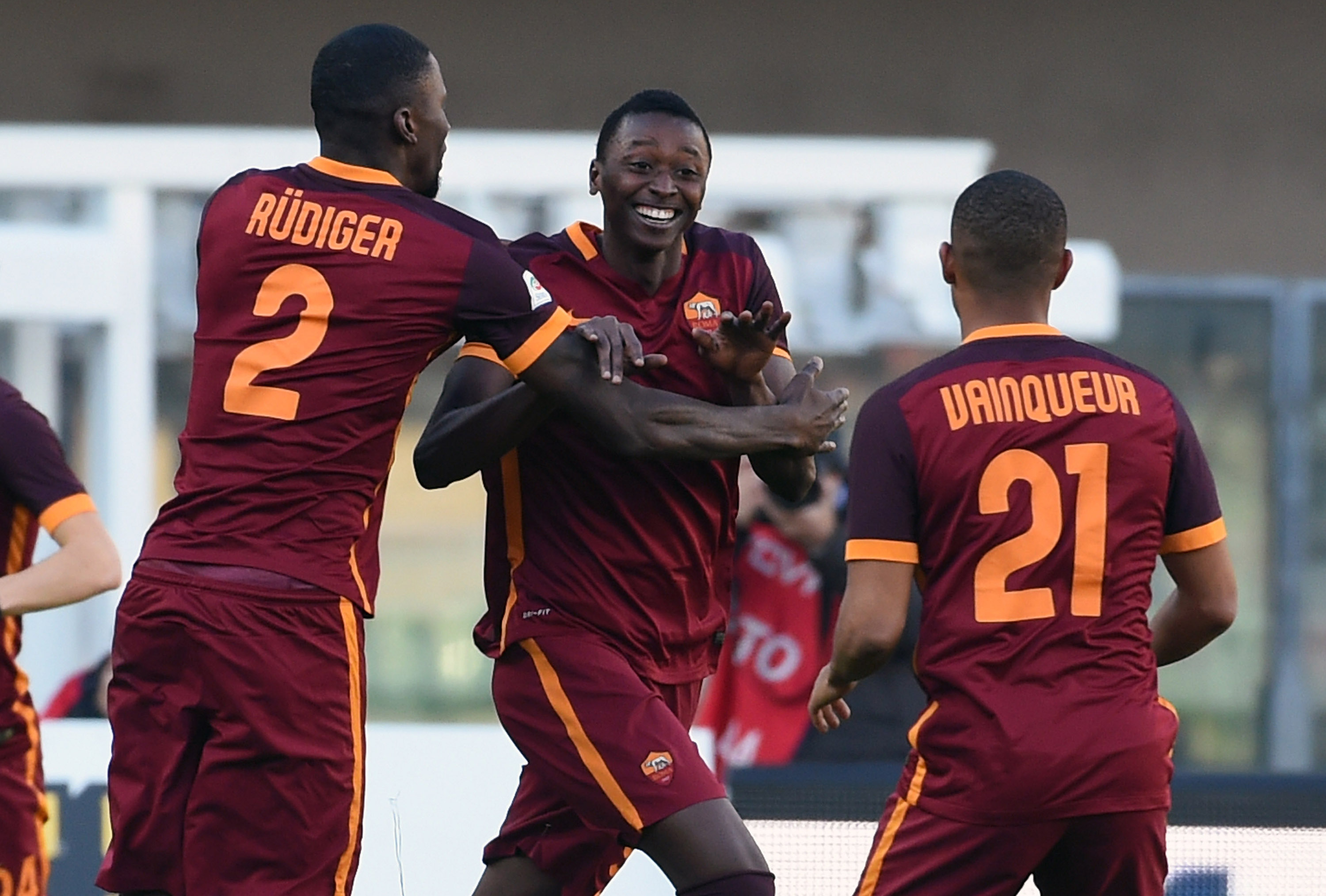 Tottenham and Liverpool battle Arsenal for Roma youngster Umar Sadiq