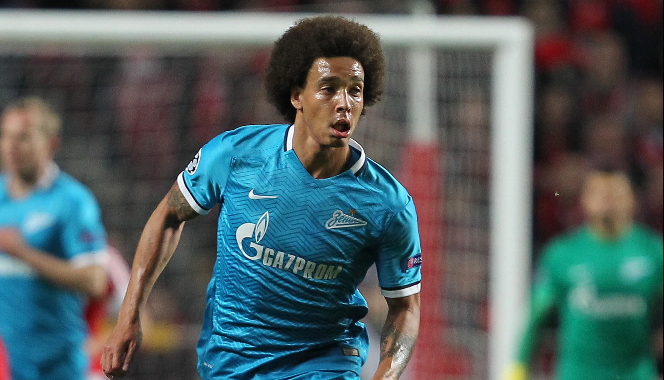Tottenham considering £20m bid for Zenit St. Petersburg's Axel Witsel