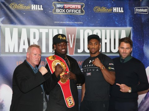 Anthony Joshua v Charles Martin: What time does the fight start and how can I watch it? Betting odds, TV times and undercard news