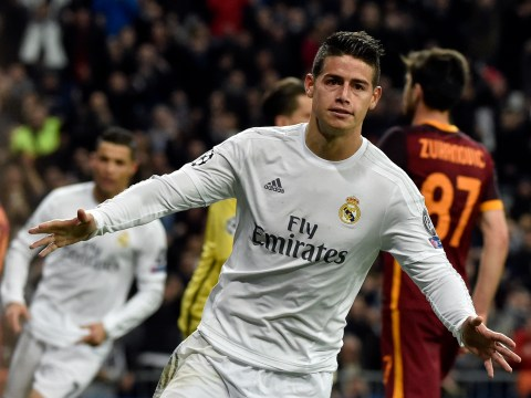 Real Madrid put £60m price tag on Chelsea and Manchester United transfer target James Rodriguez