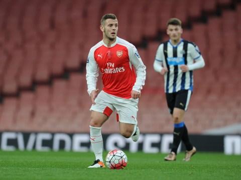 Jack Wilshere makes long awaited Arsenal comeback in Under 21 win over Newcastle United