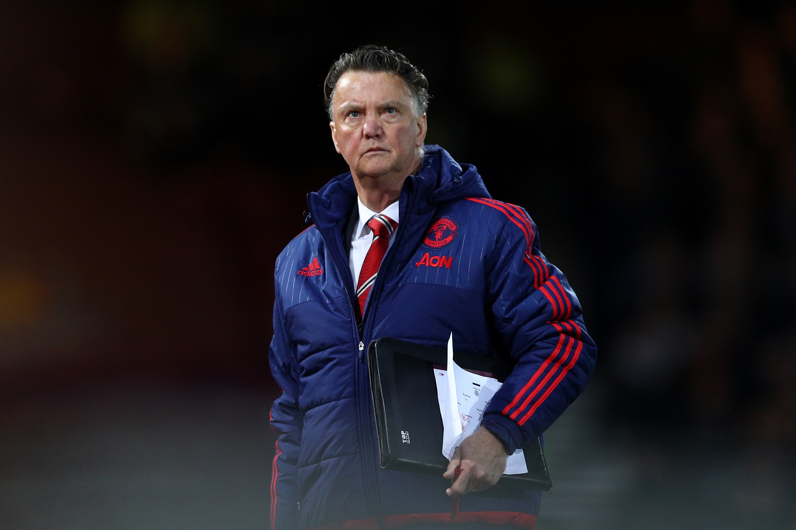 Winning the FA Cup could keep Manchester United's Louis van Gaal in his job