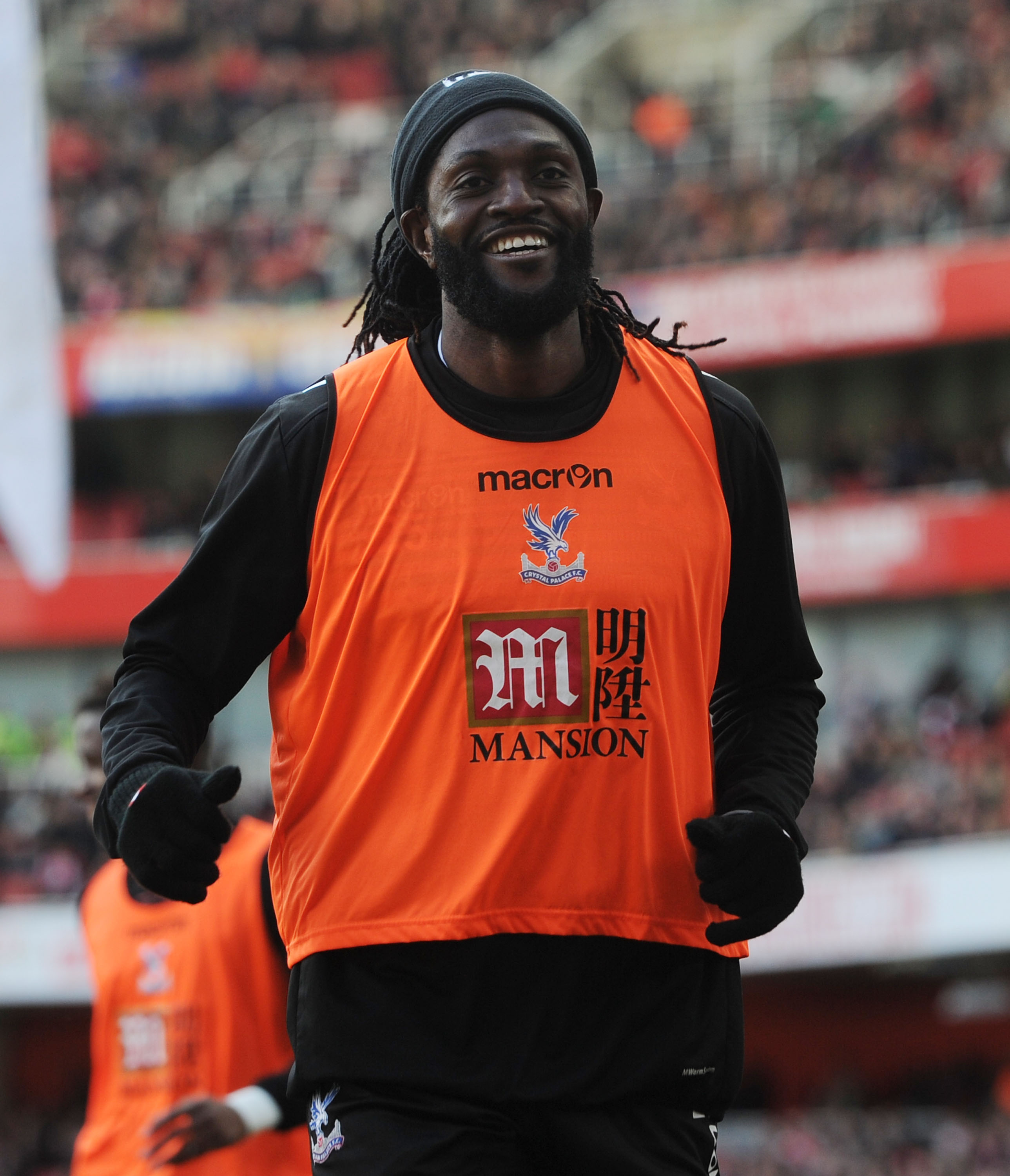 Arsenal flops Adebayor & Chamakh are so bad even Crystal Palace don't want them