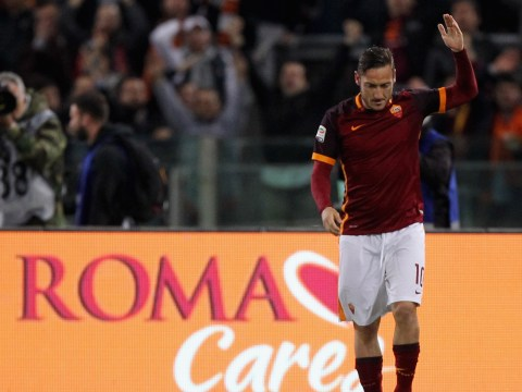 Francesco Totti transfer links to Leicester City just 'speculation', says Claudio Ranieri