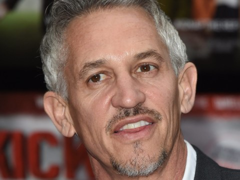 Gary Lineker trying to back out of presenting Match of the Day in his pants after Leicester City bet
