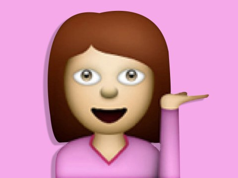 There's a hidden meaning behind the sassy woman in pink emoji, apparently