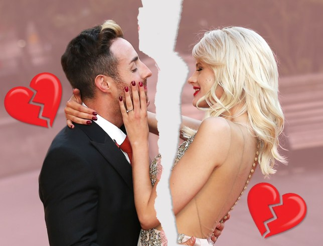Stevi Ritchie and Chloe Jasmine broke up in September - destroying all hopes of a stunning Hello! magazine wedding (Picture: Getty Images/Metro)