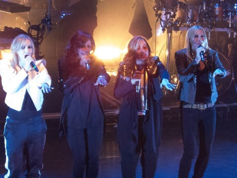 All Saints made their live comeback and fans Never Ever had such a good time