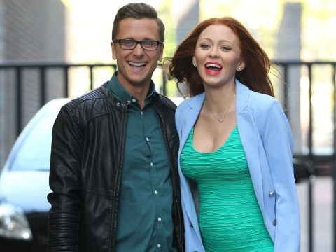 Natasha Hamilton says Ritchie Neville missed their daughter's christening despite living in the same house