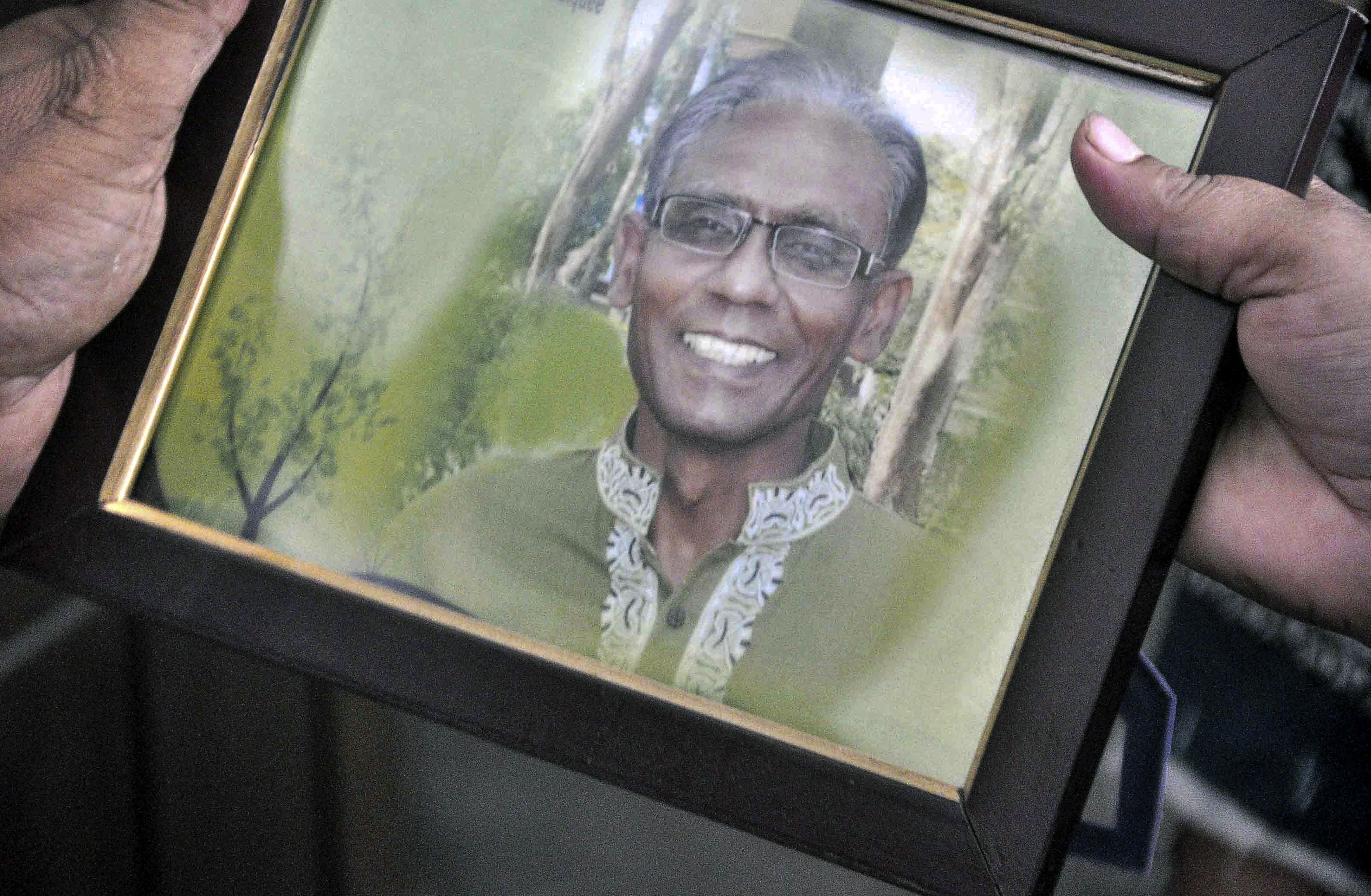 Professor hacked to death by Islamist militants in Bangladesh