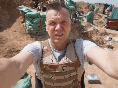 Dad goes on holiday to Iraq and gets shot at by ISIS militants. Obviously.