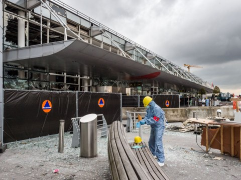 Brussels airport to reopen as Belgian is charged with plotting terror attack in France