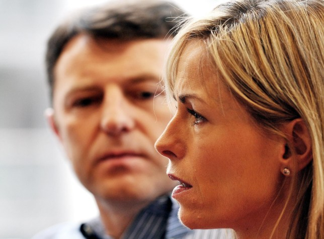"""Gerry McCann and Kate McCann, parents of missing girl Madeleine McCann. Madeleine Beth McCann disappeared on the evening of 3 May 2007 from her bed in a holiday apartment in Praia da Luz, a resort in the Algarve region of Portugal. File photo dated 02/05/12 of Gerry and Kate McCann as a woman who was accused of targeting internet abuse at Madeleine McCann's parents has been found dead in a hotel. PRESS ASSOCIATION Photo. Issue date: Sunday October 5, 2014. Brenda Leyland, 63, was identified as one of the """"trolls"""" posting hate messages aimed at the McCanns, whose daughter disappeared during a family holiday to Portugal in 2007, reports said. See PA story POLICE Portugal. Photo credit should read: John Stillwell/PA Wire"""