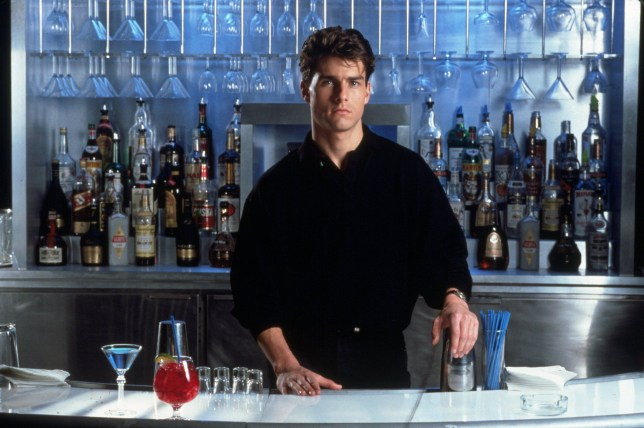 No Merchandising. Editorial Use OnlynMandatory Credit: Photo by SNAP/REX/Shutterstock (390886ad)nFILM STILLS OF 'COCKTAIL' WITH 1988, TOM CRUISE, ROGER DONALDSON IN 1988nVARIOUSnn