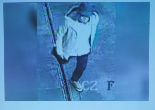 epa05247717 A photo presented by Belgian Federal prosecutors shows a suspect wanted in connection with the Brussels attacks of 22 March, during a press conference two weeks after terror attacks, at the Federal Prosecutor office in Brussels, Belgium, 07 April 2016. Prosecutors presented new pictures of the third suspected terrorist, the so-called 'man with the hat' that escaped from Zaventem airport. At least 31 people were killed and hundreds injured in bomb explosions at the departures hall of the airport and at Metro stations in downtown Brussels. Militants of the so-called Islamic State (IS) have claimed responsibility for the attacks. EPA/OLIVIER HOSLET