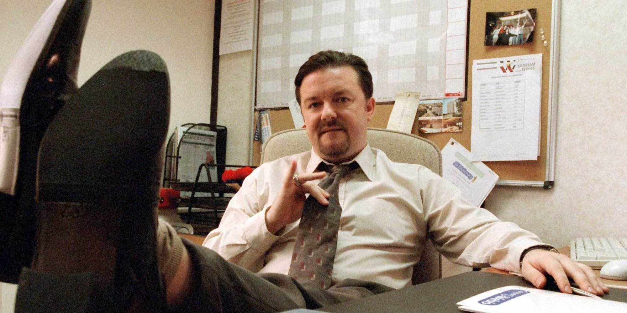 Who said it: David Brent or Ricky Gervais? Credit: BBC