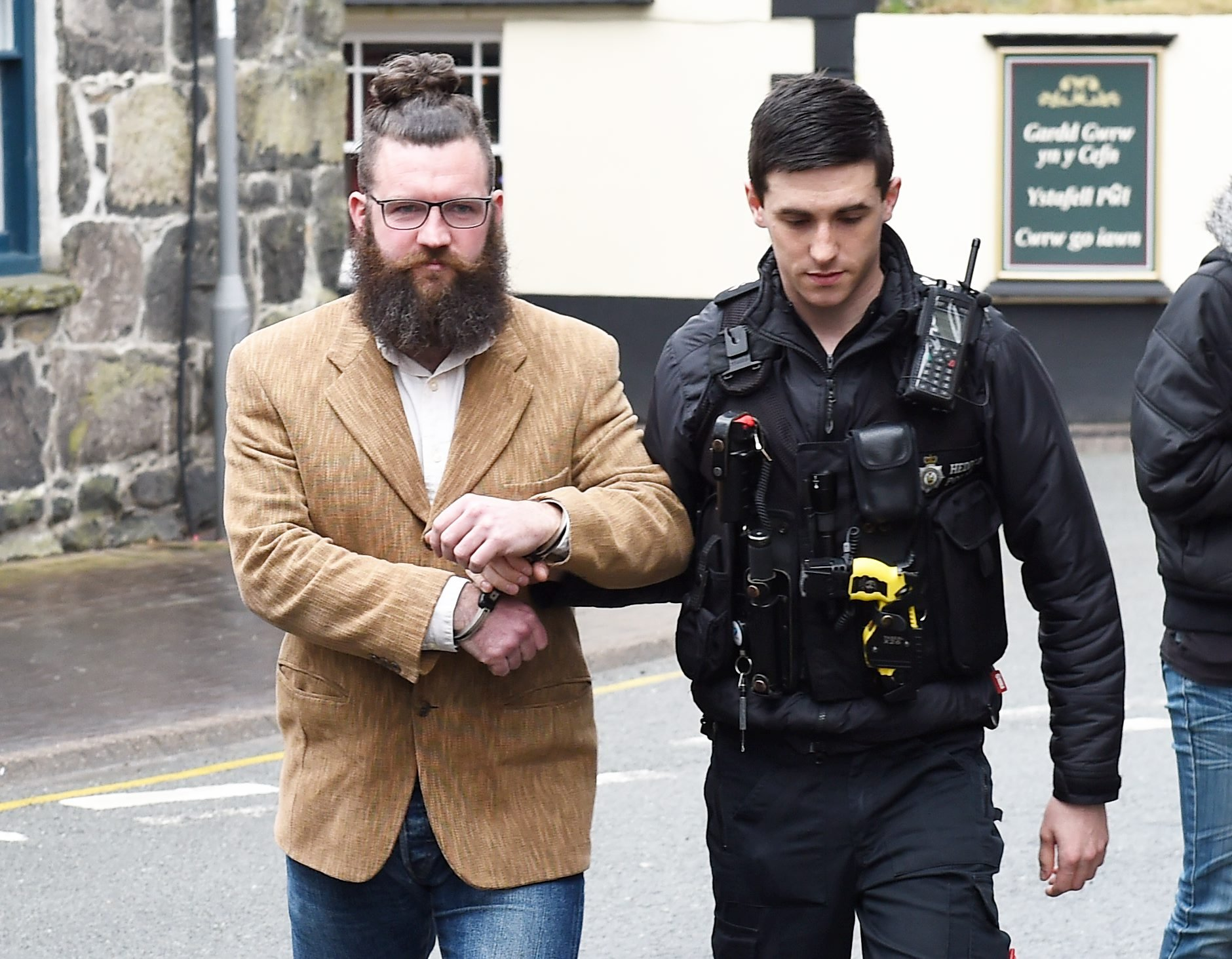 Jackson Beckett Logan has been jailed for 26 weeks (Picture: Erfyl Lloyd Davies Photography)