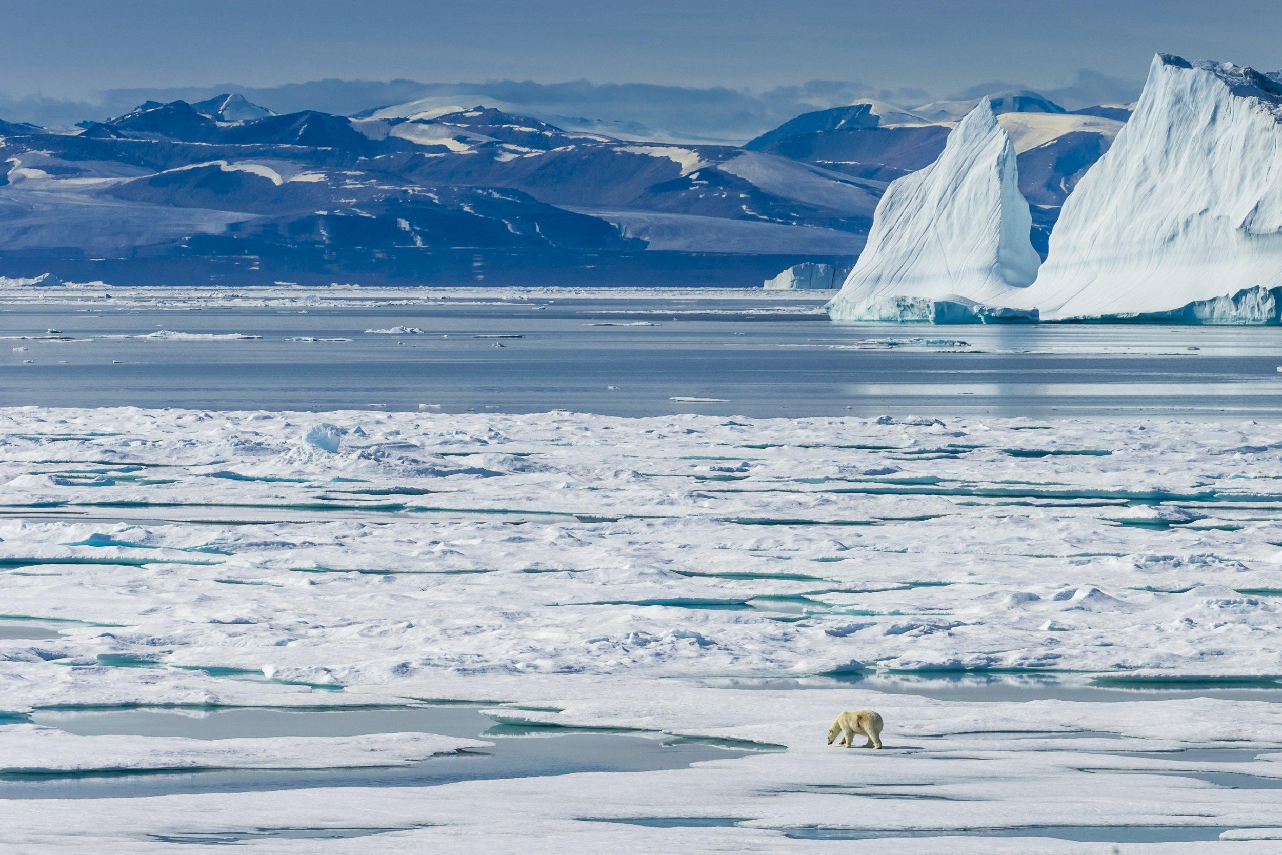 Baffin Bay, Northwest Passage, Nunavut, Canada.